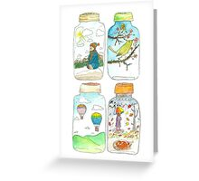 Season in the jar Greeting Card