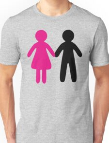 Colorful Pair Unisex T-Shirt