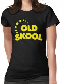Old Skool Music Quote Womens Fitted T-Shirt