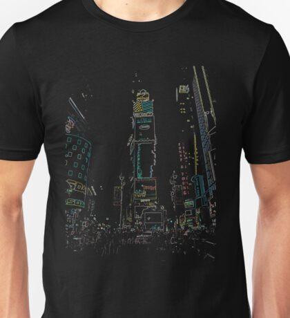 New York City Time square Unisex T-Shirt