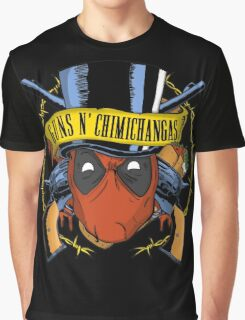 Guns n Chimichangas Graphic T-Shirt