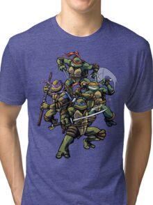 Turtle Power (textless) Tri-blend T-Shirt