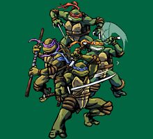 Turtle Power (textless) Unisex T-Shirt