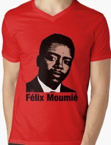 Félix Moumié Mens V-Neck T-Shirt