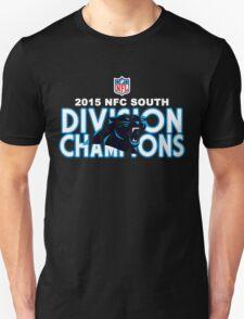 Carolina Panthers - 2015 NFC South Champions T-Shirt