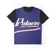Polaris Vintage Snowmobiles Graphic T-Shirt