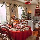 Christmas Table Setting by DPalmer