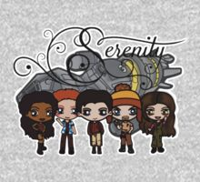 Firefly - Serenity and Crew One Piece - Long Sleeve