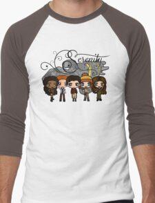 Firefly - Serenity and Crew Men's Baseball ¾ T-Shirt