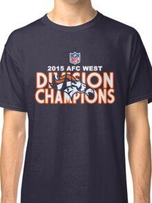 Denver Broncos - 2015 AFC West Champions Classic T-Shirt
