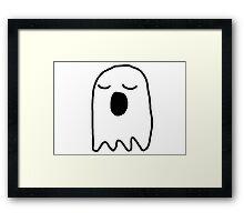 Bored Ghost Framed Print