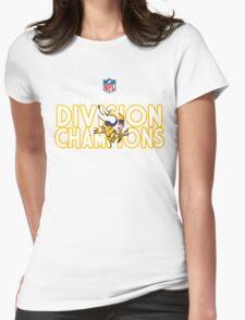 Minnesota Vikings - 2015 NFC North Champions Womens Fitted T-Shirt