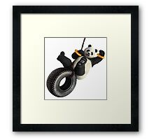panda forces Framed Print