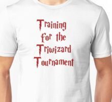 Training for the Triwizard Tournament Unisex T-Shirt