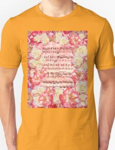Waltz Of The Flowers Sweet Roses Unisex T-Shirt
