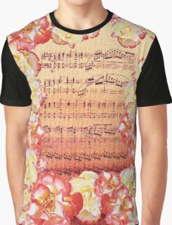 Waltz Of The Flowers Dancing Roses Graphic T-Shirt
