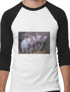 Three Little Pigs Men's Baseball ¾ T-Shirt