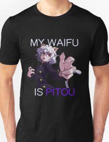 hunter x hunter pitou is my waifu anime manga shirt T-Shirt