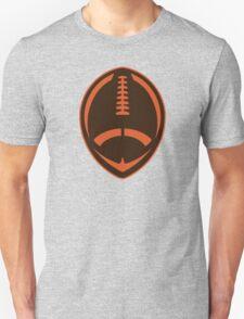 Vector Football - Brown Unisex T-Shirt