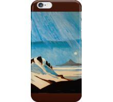 """Shining Down Like Water"" - Taranaki from Ruapehu iPhone Case/Skin"