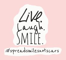 Live. Laugh. Smile Baby Tee