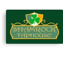 Shamrock Taphouse Canvas Print