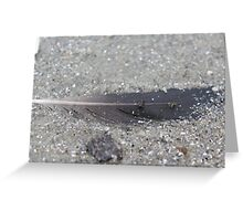 Buried Quill.  Greeting Card