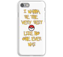 Pokemon Theme iPhone Case/Skin