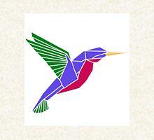 Origami geometric hummingbird Hoodie