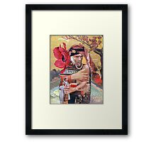 Vincent Holding the Pope. Framed Print