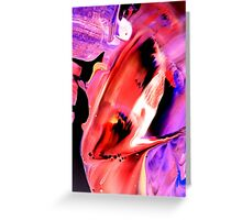 Red Madness Greeting Card