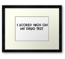 Awesome Drunk Party Time Framed Print