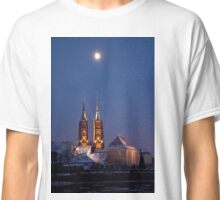 Wrocław Cathedral @night Classic T-Shirt