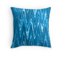 Abstract 153H Throw Pillow
