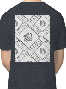 Aztec ornamental grey pic Classic T-Shirt
