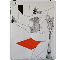 Vermillion Lady2 iPad Case/Skin
