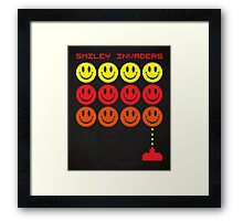 Smile Invaders Gaming Quote Framed Print