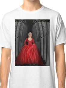 Emma Swan Running Through A Dark Forest  Classic T-Shirt