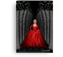 Emma Swan Once Upon A Time Canvas Print