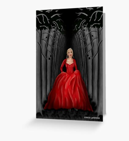 Emma Swan Once Upon A Time Greeting Card