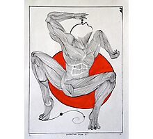 Vermillion Yoga Yoga Photographic Print