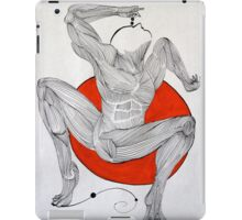 Vermillion Yoga Yoga iPad Case/Skin