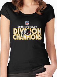 Washington Redskins - 2015 NFC East Champions Women's Fitted Scoop T-Shirt
