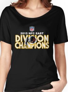 Washington Redskins - 2015 NFC East Champions Women's Relaxed Fit T-Shirt