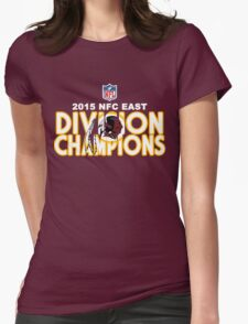 Washington Redskins - 2015 NFC East Champions Womens Fitted T-Shirt