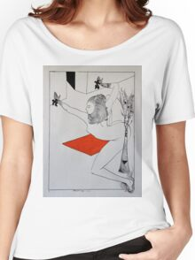 Vermillion Lady2 Women's Relaxed Fit T-Shirt