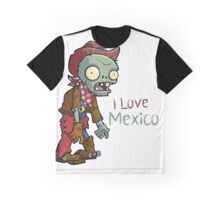 I love Mexico - Plants vs Zombies Graphic T-Shirt