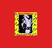 Hank Williams 40 Greatest Hits Album Unisex T-Shirt