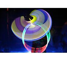 Discs of Light Photographic Print
