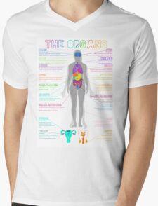 The Organs Mens V-Neck T-Shirt